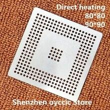 Direkt heizung 80*80 90*90 MPC555LF8MZP40 MPC555LF8MZP MPC555 BGA Schablone Template