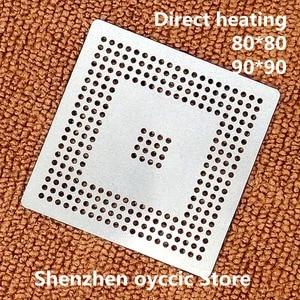 Image 1 - Làm nóng trực tiếp 80*80 90*90 MPC555LF8MZP40 MPC555LF8MZP MPC555 BGA Stencil Bản Mẫu