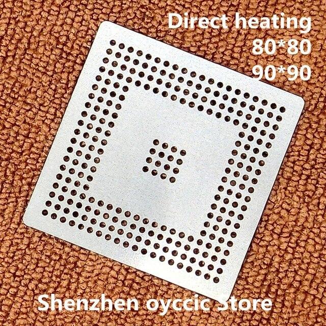 Làm nóng trực tiếp 80*80 90*90 MPC555LF8MZP40 MPC555LF8MZP MPC555 BGA Stencil Bản Mẫu