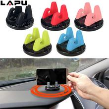 LAPU generality Car Holder Stand Desk Support Bracket New Design Phone Silicone Dashboard Sticking Mobile