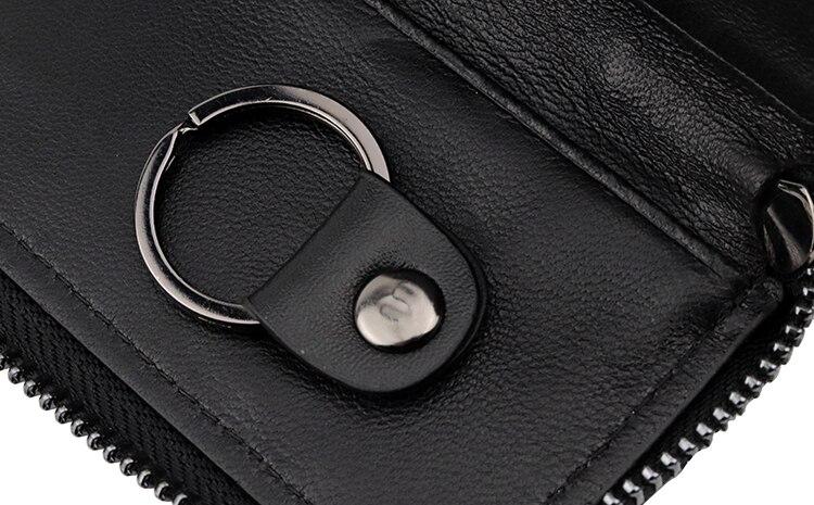 bolsa com zíper carteiras de cartão de