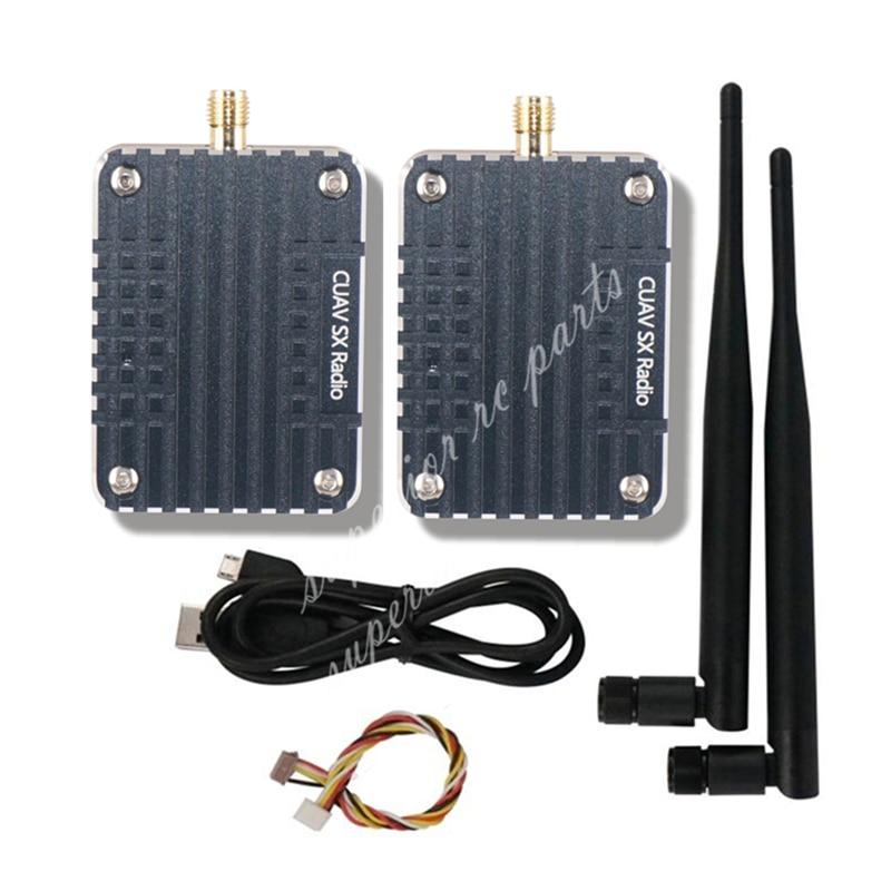 CUAV SX 1000mw Radio Digital FPV Transmitter Module 2PCS for Pixhawk Pixhack Flight Control FPV RC Drone Quadcopter f04305 sim900 gprs gsm development board kit quad band module for diy rc quadcopter drone fpv