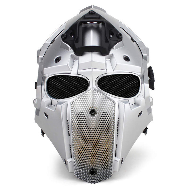 Новый дышать бесплатно тактический обсидиан зеленый GOBL Терминатор Велоспорт Шлем маска плюс принадлежности для охоты Пейнтбол Спорт