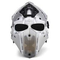 Новый дышать свободно Тактический обсидиан зеленый 301gobl Терминатор велосипедный шлем маска плюс Принадлежности для охоты Пейнтбол Спорт