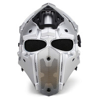 NEW Breathe Free Tactical OBSIDIAN GREEN GOBL TERMINATOR Cycling Helmet Mask Plus Hunting Accessories Paintball Sport