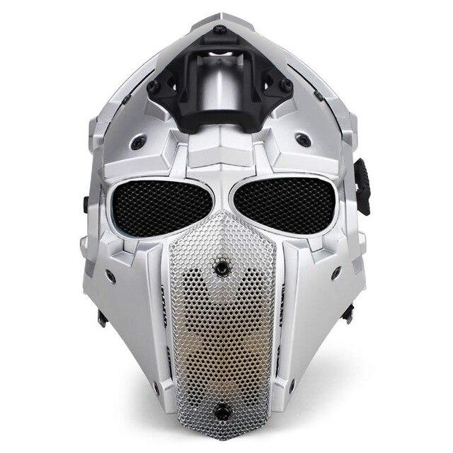 Nouveau souffle libre tactique obsidienne vert GOBL TERMINATOR casque de cyclisme masque Plus accessoires de chasse Paintball Sport
