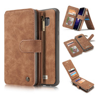 Original Luxury Leather Magnetic Wallet Case For Fundas Samsung Galaxy S8 S8 Plus Case For Samsung