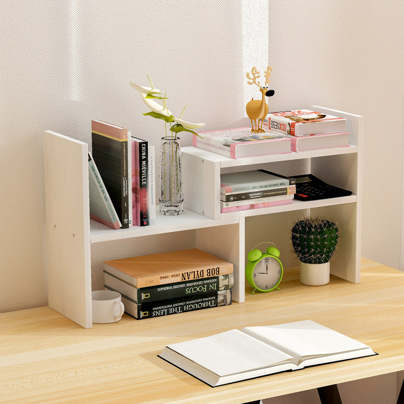 Creative Computer Desk Bookshelf Simple Shelf Small Office Storage Frame Telescopic Desktop Bookcase In Bookcases From Furniture On Aliexpress Alibaba