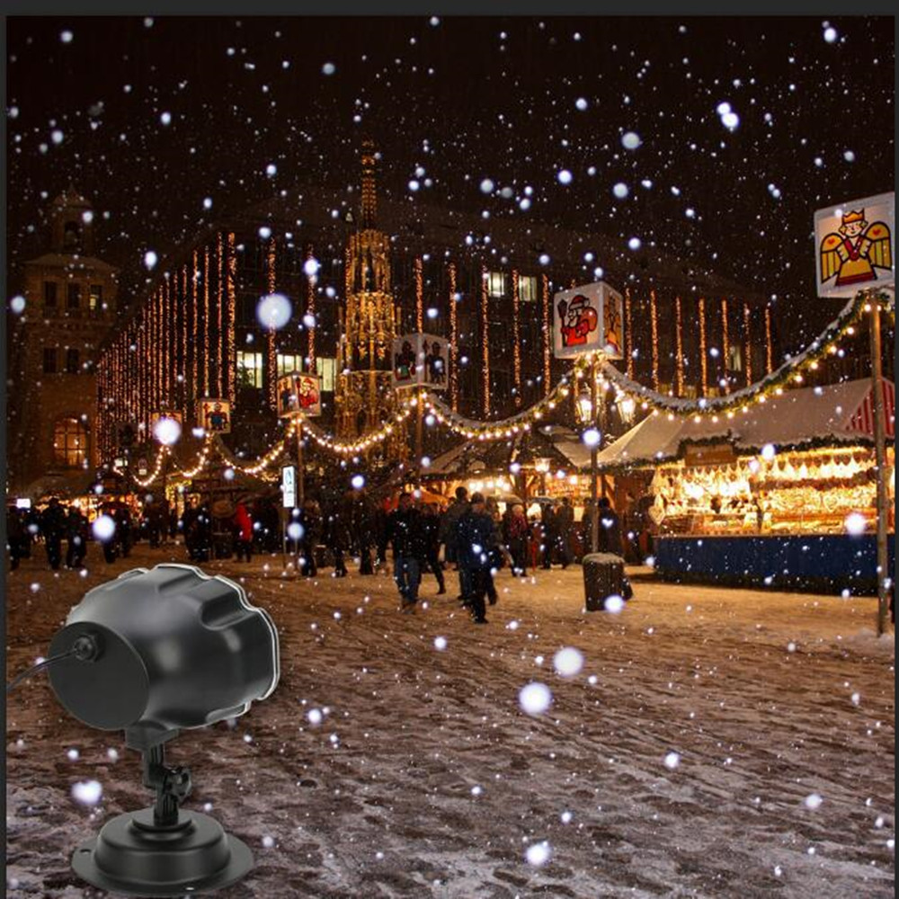 Aliexpress Com Buy Vnl Ip65 Christmas Laser Snowflake