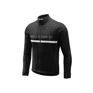 Image 5 - 2018 Morvelo 春サイクリングセットサイクリングジャージビブパンツロング秋ロードバイク自転車服 mtb mallot ropa ciclismo hombre