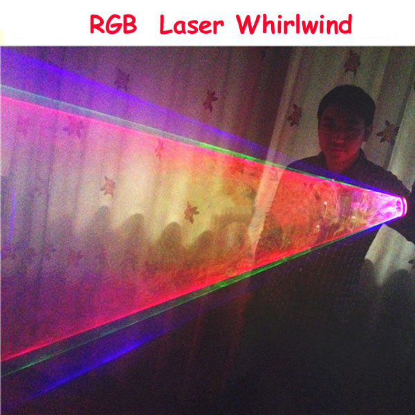 RGB Laser Whirlwind Multicolour Laser Vortex Laser Man stage supplies LED Laser Gloves Nightclub Performances whirlwind