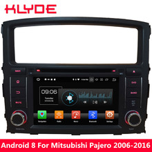 KLYDE Octa Core 4GB RAM Android 8 Car DVD Player For Mitsubishi Pajero V97 V93 2006 2007 2008 2009 2010 2011 2012 2013 2014-2016