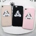 Дворец для iphone 5 5s SE 6 6 s 7 плюс Case Brand новый Популярный Логотип Роскошный Fshion Мягкие Кремния Телефон Case Cover Коке Fundas #