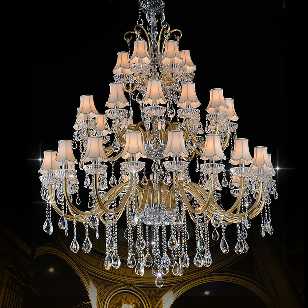 Luxury Large Chandelier Modern Sanctuary hall chandeliers with shade - Indoor Lighting - Photo 2