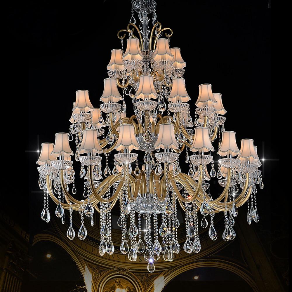 Луксозен голям полилей Модерен - Вътрешно осветление - Снимка 2