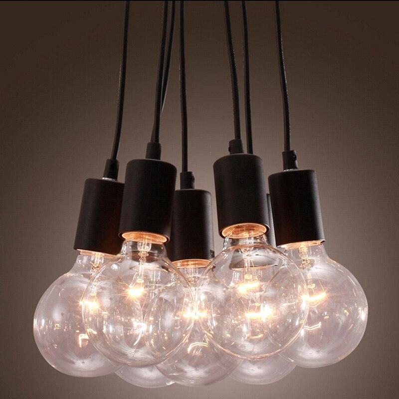 Vintage Edison Industrial Style DIY Retro Ceiling Lamps Retro Industrial Lamp Style Pendant Lighting