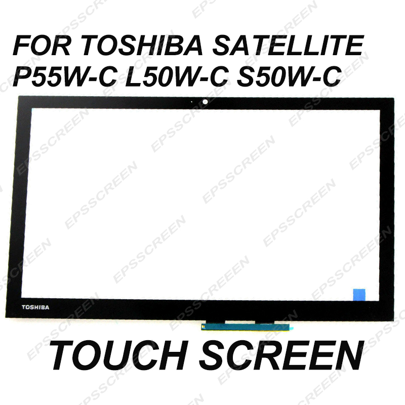 replace 15 6 for toshiba Satellite P55W C L50W C S50W C L55W C touch screen