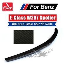 E class W207 High-quality carbon fiber rear bumper trunk spoiler wings for mercedes Benz AMG Style 2010-16 coupe e250 e200 e300 2g ram 16g rom android gps navigator for mercedes benz e class c207 coupe a207 w207 2010 2015 e200 250