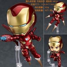 10cm Avengers Endgame iron Man 988# Action figure toys doll Christmas gift with box