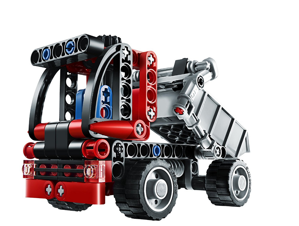 Decool Technic City Series Mini Container Truck Building Blocks Bricks Model Kids Toys Marvel Compatible Legoe city transport dumper container loading truck model toys car 281pcs building blocks bricks compatible all brand with minifig