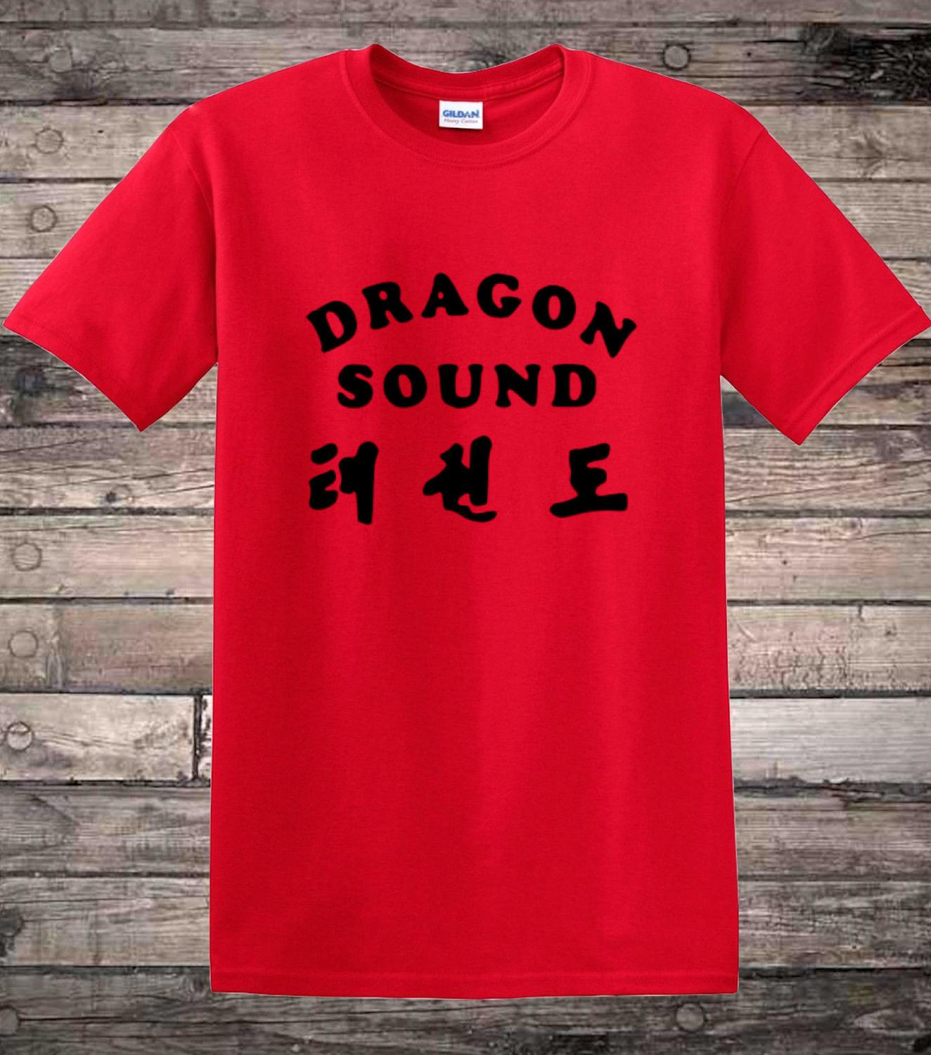 Design your own t-shirt miami - Miami Connection Inspired Dragon Sound T Shirt Mens T Shirts Summer O Neck Cotton Simple