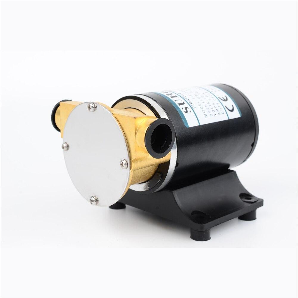 DC 12 V/24 V 25-30L/Min Surface électrique pompe centrifuge pont lavage moteur pompe de refroidissement pompe à turbine Flexible pompe de cale FIP-3200