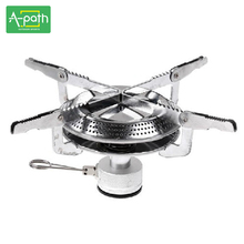 New outdoor camping equipment hiking camp stove bbq cooking portable gas stove Split gas furnace burner camping stoves
