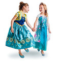 Meninas QUENTES de Verão Bebê Meninas Vestido Elsa Anna Febre Veste Crianças Vestido de Princesa Vestido Crianças Festa de Aniversário Presente Cospaly Traje