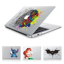 Горячая стежка Бэтмен Белоснежка мозг Виниловая наклейка для ноутбука стикеры Apple Macbook Pro Air 13 11 12 15 мультфильм кожного покрова для Mac