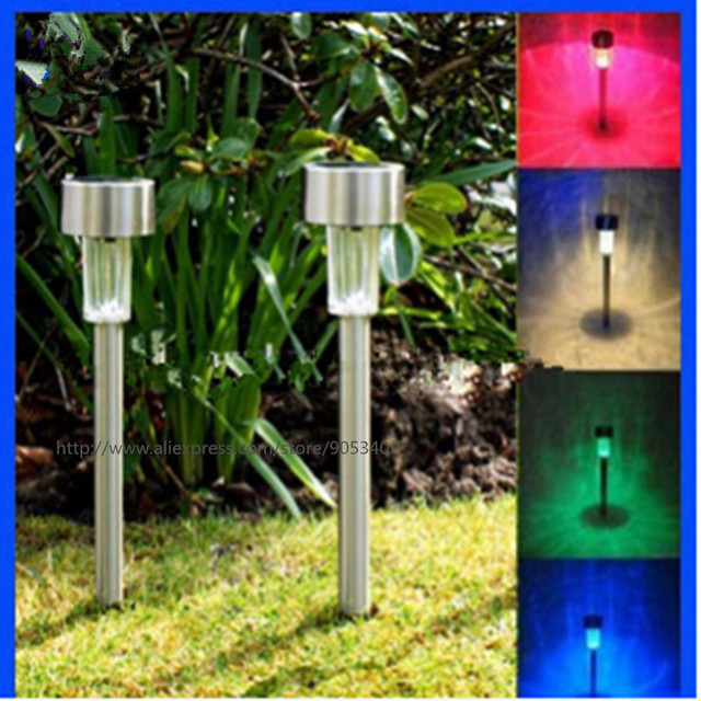 Outdoor solar power lawn lamps waterproof color changing multicolor outdoor solar power lawn lamps waterproof color changing multicolor led spot light garden path stainles steel aloadofball Gallery