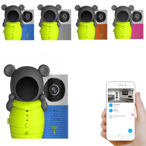 Clever Dog Smart Camera WiFi Wireless Baby Monitor Intelligent Alerts Night Vision Nanny Camera support iOS Android цена