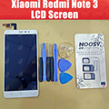 Для Xiaomi Redmi Note 3 ЖК-Дисплей С Сенсорным Экраном + Инструменты Новый 5.5 дюймов 1920X1080 FHD Планшета Ассамблеи Замена Для Pro/премьер-