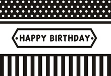 Laeacco Black Stripes Pattern Women Man Birthday Party Photography Background Customized Photographic Backdrops For Photo Studio laeacco black white stripes green leaves wedding baby photography background customized photographic backdrops for photo studio