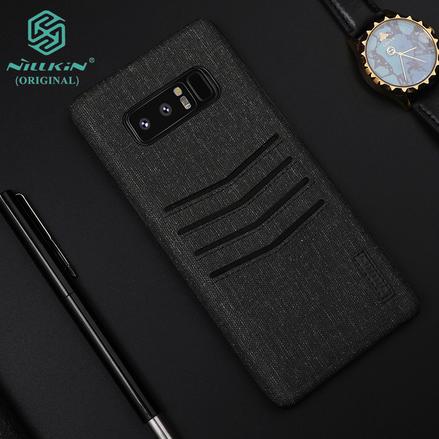 detailed look 6ffe1 5a89a US $12.93 |Note8 wallet case NILLKIN Card storage Business Classy Cover for  Samsung Galaxy Note 8 Imported PU Leather Tough PC Microfiber-in Wallet ...