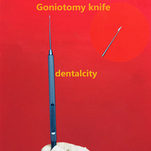 Titanium Straight Goniotomy knife 120mm long ophthalmic surgical instruments