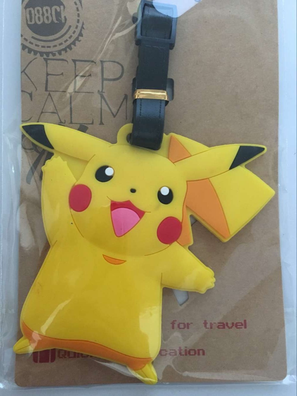 1pcs Pikachu Poke Ball Bag Pendant Travel Name Luggage Tag Novelty Toys In Gags Practical Jokes From Hobbies On Alibaba Group