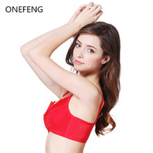 ONEFENG 6018 Mastectomy Bra Comfort Pocket for Silicone Breast Forms Artificial Boobs Cover Brassiere Underwear