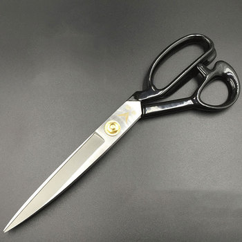 Prajna Professional Tailor Scissors Vintage High Quality Stainless Steel Fabric Leather Cutter Craft Scissors Sewing Accessories prajna golden tailor scissors stainless steel professional cutter leather fabric sewing shears sharp blade vintage scissors