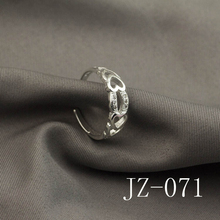 2017 Free shipping jewelry Creative set auger heart-shaped ring wholesale Simple women's ring Women silver ring
