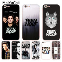 Dylan O'Brien MaiYaCa Teen Wolf transparente macio tpu tampa da caixa do telefone para o iphone 8 7 6 6 S Plus X XS MAX XR 5 5S SE 5C Tampa Do caso(China)