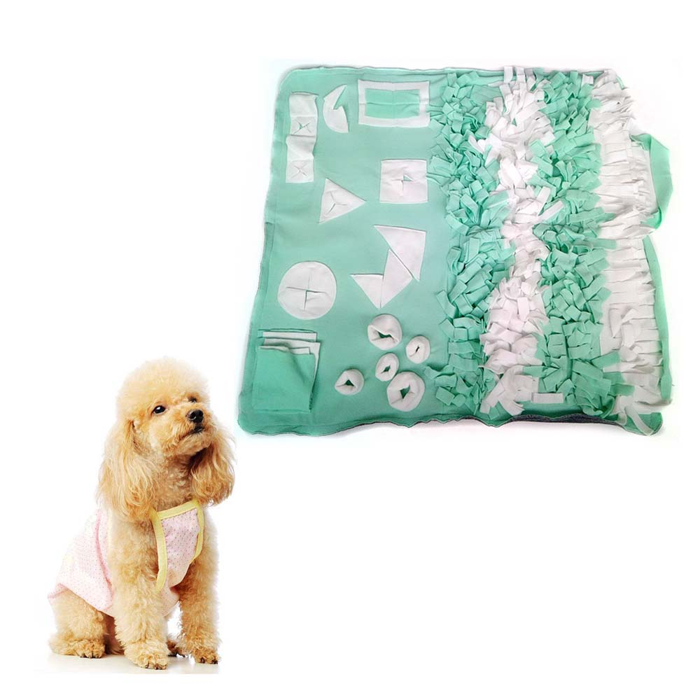 US $13 73 15% OFF Consume Energy Puzzle Pet Dog Smell Training Game Blanket  Kennel Dog House Mat Pet Sniffing Blanket Washable Sniffing Pad-in Dog