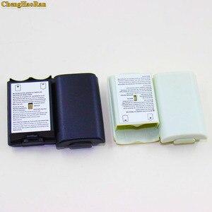 Image 4 - 50 ピース/ロットためXbox360 ゲームコントローラバッテリーパックカバーシェルシールドケースxbox 360 ワイヤレスコントローラーのバッテリーシェル