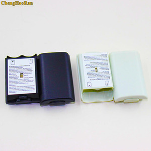 Image 4 - 50pcs/lot For Xbox360 Game Controller Battery Pack Cover Shell Shield Case Kit For Xbox 360 Wireless Controller Battery Shell