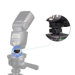 Image 5 - Kaliou U Type 1/4 screw Single Hot Shoe Mount Adapter Flash Light Stand Flash Base Holder Triple Hot Shoe Mount Converter