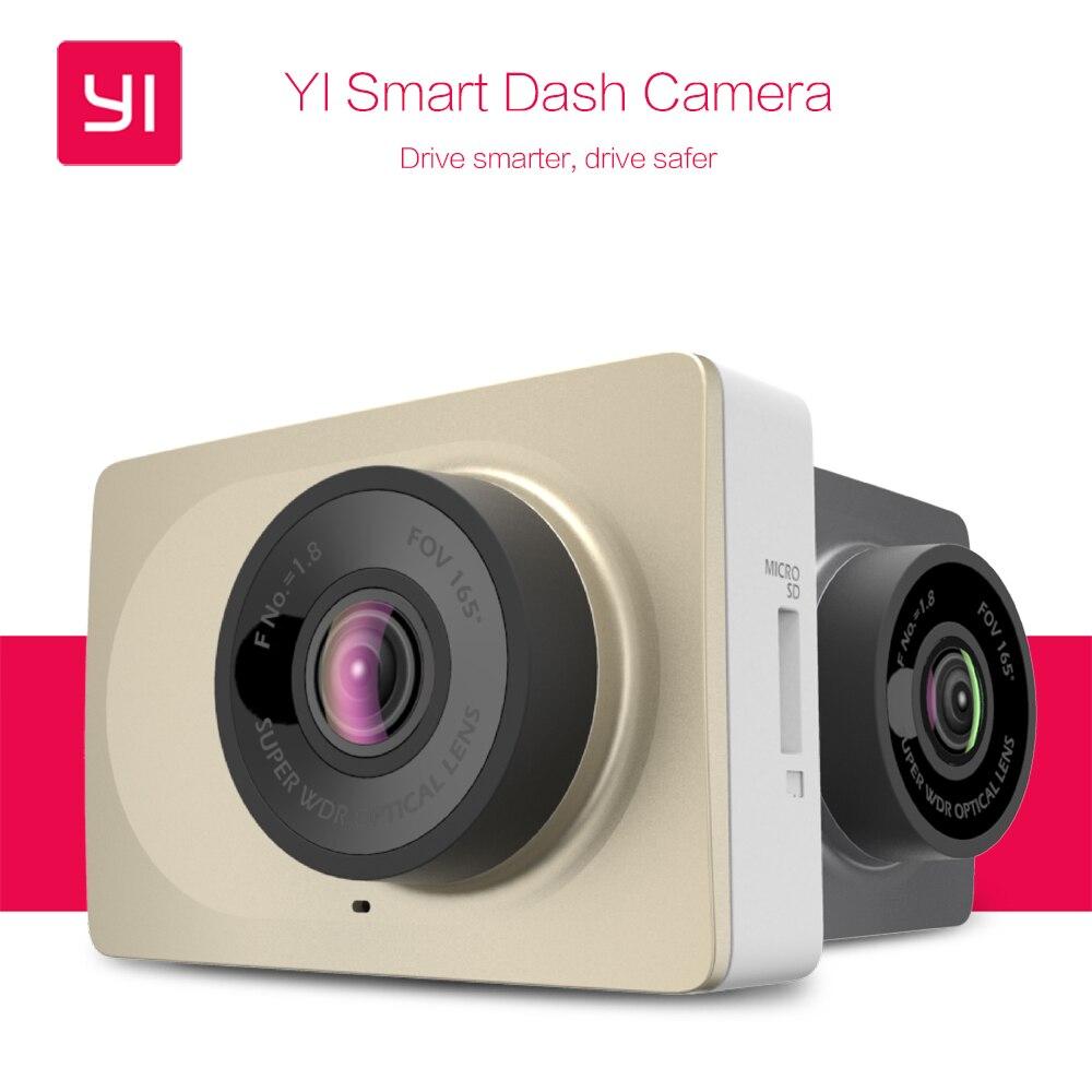 """bilder für [International Version] Xiaomi YI Smart Dash Kamera WiFi Auto DVR Nachtsicht HD 1080 P 2,7 """"165 grad 60fps ADAS Sichere Erinnerung"""
