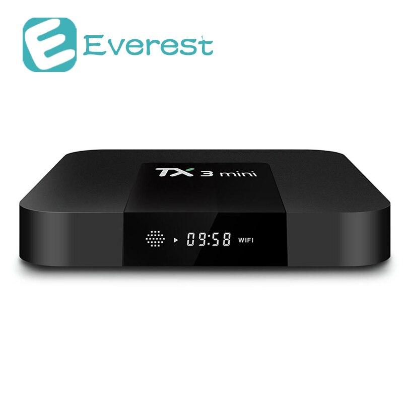все цены на TANIX TX3 mini smart tv box Android 7.1 Amlogic S905W Quad Core 4K TV Box 2GB/16GB android tv box WIFI HDMI mini pc