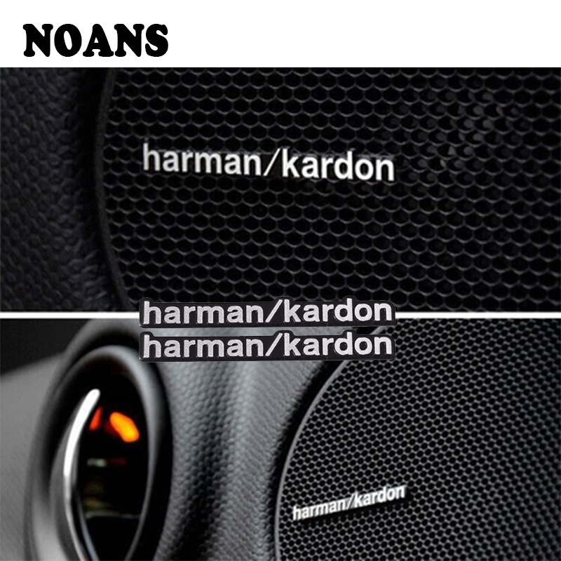 Car Audio Speaker Stickers Car-Styling For Volkswagen Polo VW Golf 7 6 5 Passat B5 B6 CC Touareg Scirocco Tiguan 2016 2017 2018