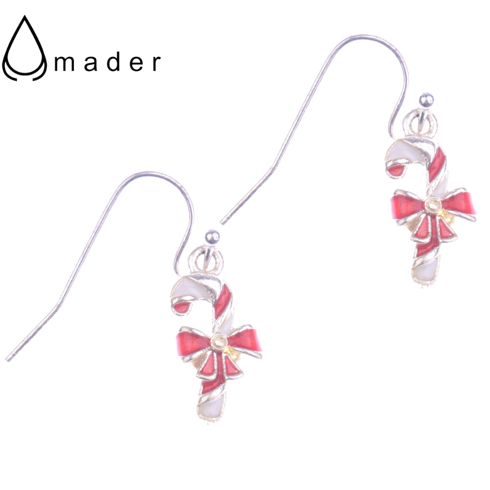 Source · Christmas Day Jewelry Candy Cane Dangle Earrings For Girls Women  Wholesale Christmas Gift Ae091(china