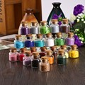 Y28 2016 New one box Glitter Fuzzy Velvet used with gel nail polish Powder For Nail Art Tips Decorations Flocked Fiber Colorful