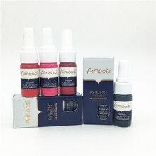 Mirco Permanent Makeup Pigment For Munsu Eyebrow And Lip Beauty Makeup Tattoo Ink Goochie Pigment Ink